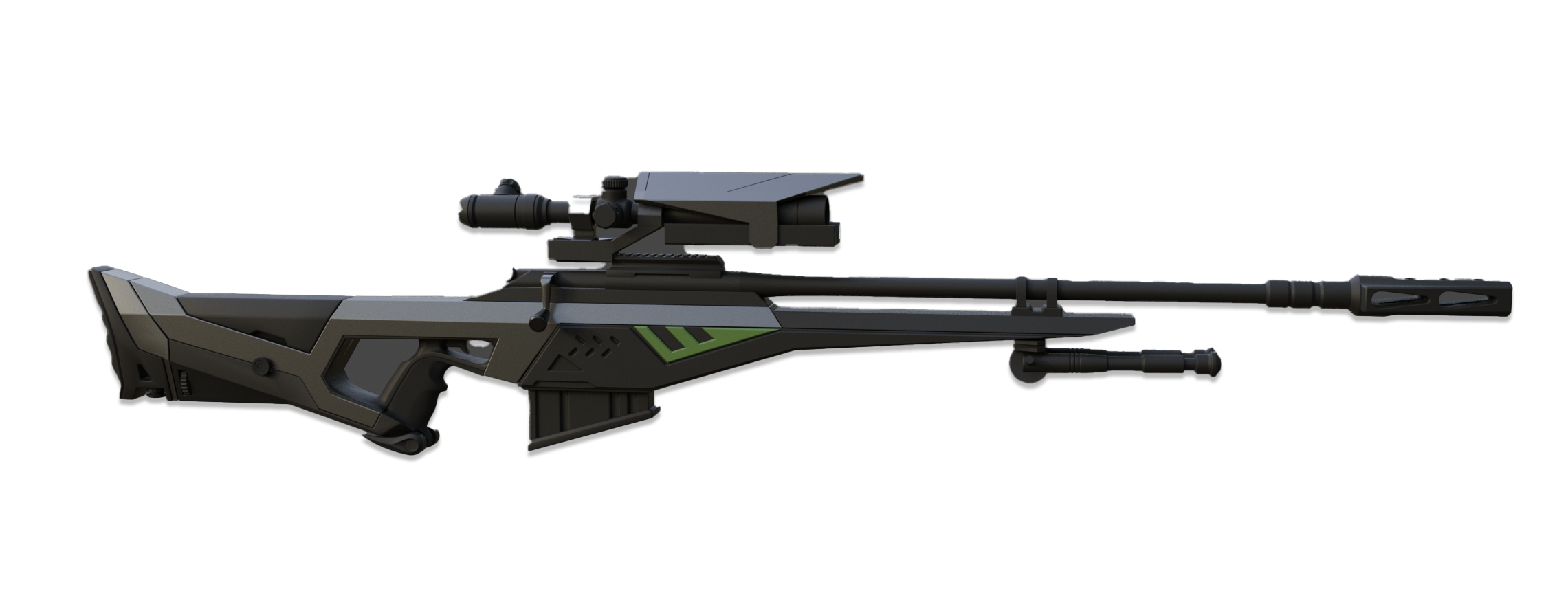 crow rifle png